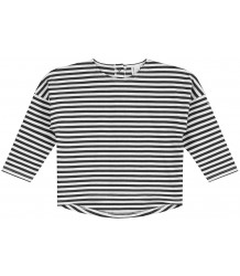 Gray Label LS Dropped Shoulder Tee STRIPE Gray Label LS Dropped Shoulder Tee STRIPE black and white