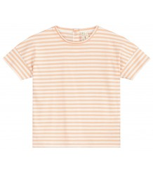 Gray Label Oversized Tee STRIPE Gray Label Oversized Tee STRIPE pop and white