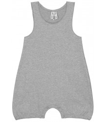 Gray Label Baby Sleeveless Onesie Gray Label Baby Sleeveless Onesie grey melange