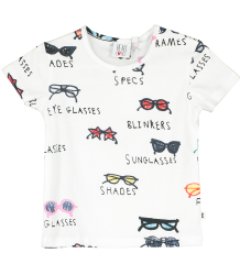 Beau LOves Baby T-shirt SPECTACLES Beau LOves Baby T-shirt SPECTACLES