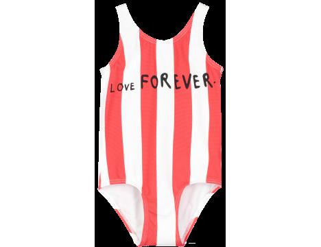 Beau LOves Swim Suit LOVE & STRIPES