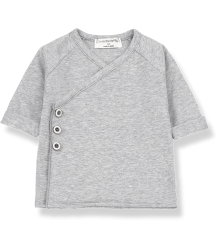 1+ in the Family GADEA Newborn Shirt 1  in the Family GADEA Newborn Shirt grey melange