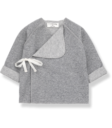 1+ in the Family NAT NewBorn Shirt 1  in the Family NAT NewBorn Shirt grey melange