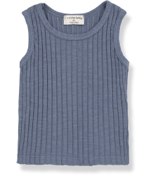 1+ in the Family LEA Tank Top 1  in the Family LEA Tank Top indigo