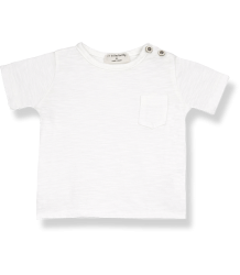 1+ in the Family DOMENICO SS T-shirt 1  in the Family DOMENICO SS T-shirt off-white