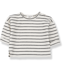 1+ in the Family GODO Sweatshirt 1  in the Family GODO Sweatshirt black striped