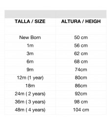 1+ in the Family GALILEA Bloomer) 1  in the Family size chart