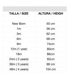 1+ in the Family LUA Leggings w/Feet 1  in the Family sizes