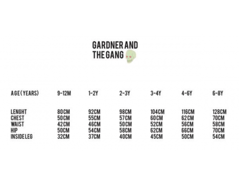 Gardner and the Gang Swimsuit THE GRAPHIC
