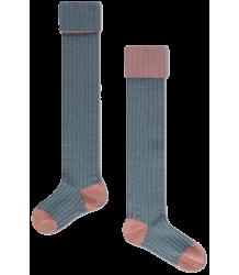 Repose AMS Overknees Socks Repose AMS Overknees Socks aged blue