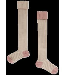 Repose AMS Overknees Socks Repose AMS Overknees Socks sand