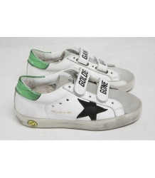 Golden Goose Superstar Old School GOLDEN GANG Shiny Green Golden Goose Superstar OLD SCHOOL shiny green