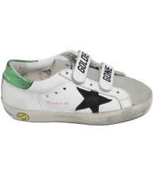Superstar Old School GOLDEN GANG Shiny Green Golden Goose Superstar OLD SCHOOL shiny green