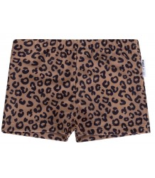 Maed for Mini Brown LEOPARD Swim Shorts Maed for Mini Brown LEOPARD Swim Shorts