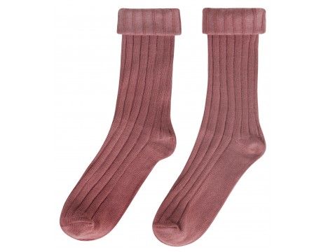Maed for Mini Funky Flamingo Rib Knee Socks