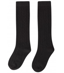 Maed for Mini Black Panther AJOUR Knit Socks Maed for Mini Black Panther Knit Socks