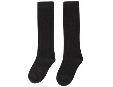 Maed for Mini Black Panther AJOUR Knit Socks