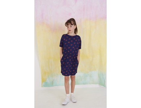 Soft Gallery Delina Dress KISS aop