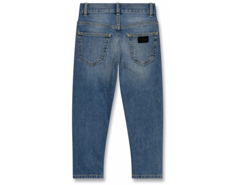 Finger in the Nose Emma PATCHED Boyfriend Jeans