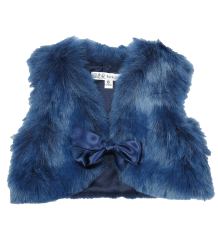 Patrizia Pepe Girls Gilet Fake Fur Patrizia Pepe baby Girls - Gilet Fake Fur