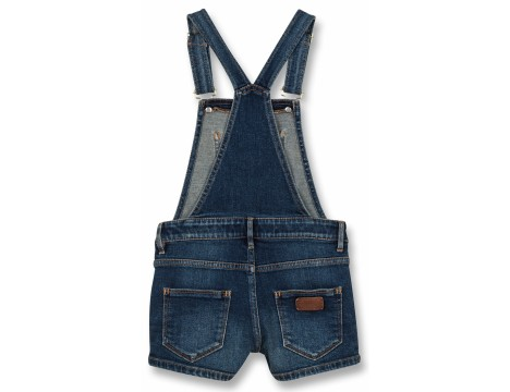 Finger in the Nose Yumi Denim Short Overall