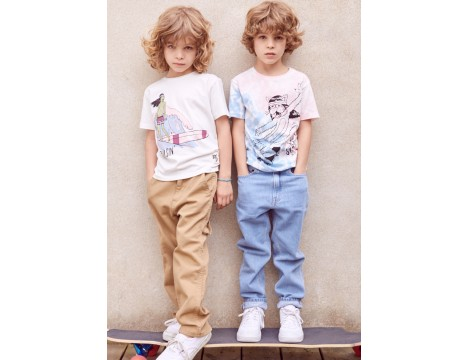 Finger in the Nose Ollibis Unisex Baggy Fit Jeans