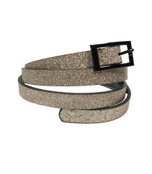 Patrizia Pepe Girls Glitter Belt Patrizia Pepe Girls Glitter Belt - gold / pink