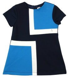 Patrizia Pepe Girls Dress Color Block - OUTLET Patrizia Pepe Girls Dress Color Block
