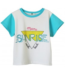 SUNRISE SS T-shirt Bandy Button SUNRISE SS T-shirt