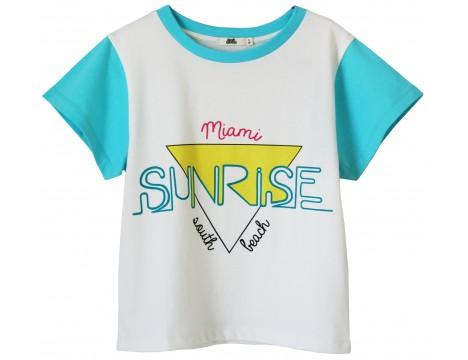 Bandy Button SUNRISE SS T-shirt