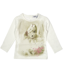 Patrizia Pepe Girls T-shirt Bear - OUTLET Patrizia Pepe Baby Girls - T-shirt Bear