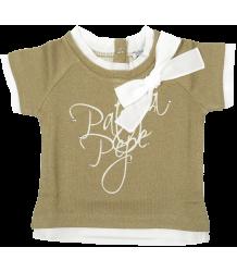 Sweatshirt Short Sleeves - OUTLET Patrizia Pepe Girls Sweatshirt Short Sleeves