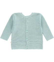 Mini Sibling Knit Reversible Sweater-Cardigan Mini Sibling Knit Reversible Sweater-Cardigan tea green