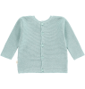 Mini Sibling Knit Reversible Sweater-Cardigan Mini Sibling Knit Reversible Sweater-Cardigan tea green