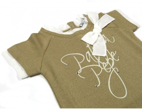 Patrizia Pepe Girls Sweatshirt Short Sleeves