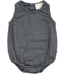 Mini Sibling Sunsuit Mini Sibling Sunsuit charcoal