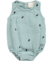 Mini Sibling Sunsuit DIAMONDS Mini Sibling Sunsuit DIAMONDS tea green