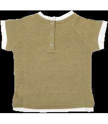 Sweatshirt Short Sleeves - OUTLET Patrizia Pepe Girls Sweatshirt Short Sleeves - gold
