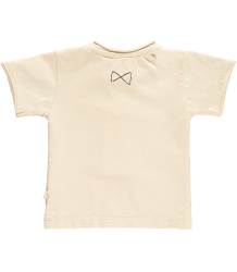 Mini Sibling Short Sleeved Baby T-shirt Mini Sibling Short Sleeved Baby T-shirt oatmeal