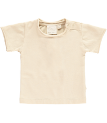 Mini Sibling Short Sleeved Baby T-shirt Mini Sibling Short Sleeved Baby T-shirt beige