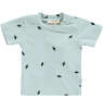 Mini Sibling Short Sleeved Baby T-shirt DIAMONDS Mini Sibling Short Sleeved Baby T-shirt DIAMONDS tea green