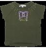 Sweatshirt Short Sleeves Patrizia Pepe Girls Sweatshirt Short Sleeves - green