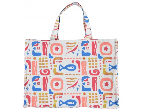 Fresh Dinosaurs Beach Bag OCEAN aop