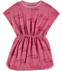 Fresh Dinosaurs Terry Dress STRAWBERRY aop Fresh Dinosaurs Terry Dress STRAWBERRY aop