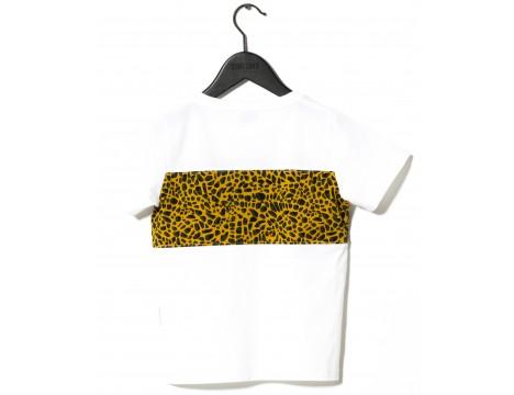 Sometime Soon Santee S/S T-shirt LEOPARD STRIPE