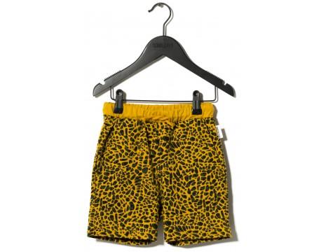 Sometime Soon Delano Shorts LEOPARD