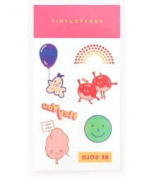 Tiny Cottons Tattoos Set BLOCK PARTY Tiny Cottons Tattoos Set BLOCK PARTY