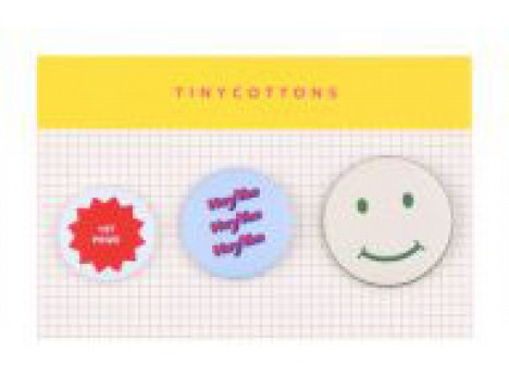 Tiny Cottons Pins BLOCK PARTY