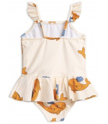 Mini Rodini WHALE Skirt Swimsuit