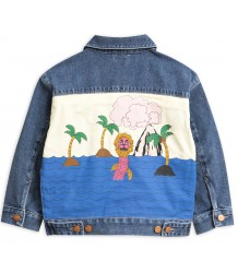 Mini Rodini SEAMONSTER Denim Jacket - LIMITED EDITION Mini Rodini SEAMONSTER Denim Jacket - LIMITED EDITION